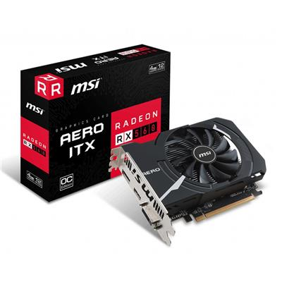 PLACA VIDEO VGA PCI-E 4GB RX 560 AERO ITX 4G OC MSI